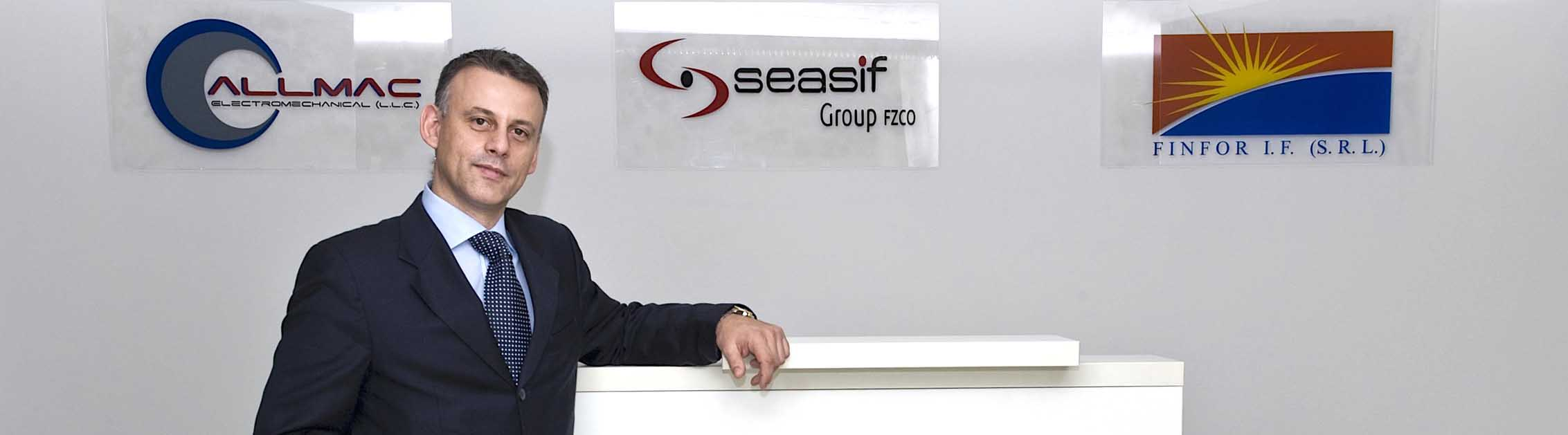 Franco Favilla - Chairman & CEO, Seasif Holding